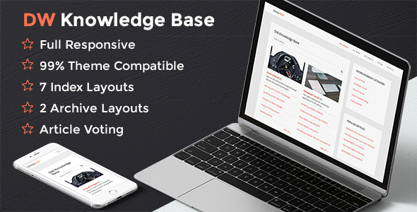 DW Knowledge Base Pro - Wordpress Plugin - CodeCanyon Item for Sale