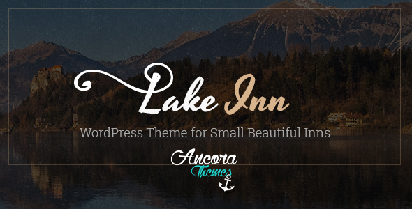 LakeInn - Inns, Hotels & Resorts Theme - Travel Retail