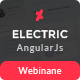 Electric - Admin Panel Dashboard Angular JS Template