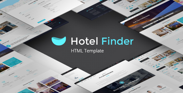Hotel Finder – Online Booking HTML Website Template