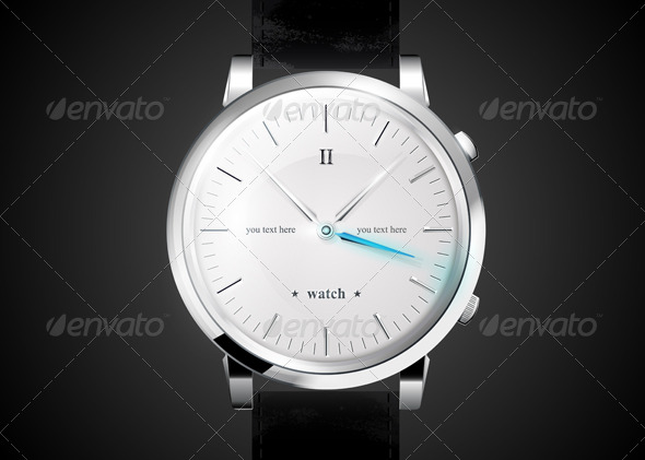 Watches  - Objects Vectors