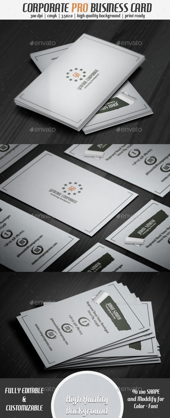 Qr Corporate Business Card 2 - Creative Business Cards