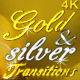 Gold & Silver Bokeh Transitions - VideoHive Item for Sale