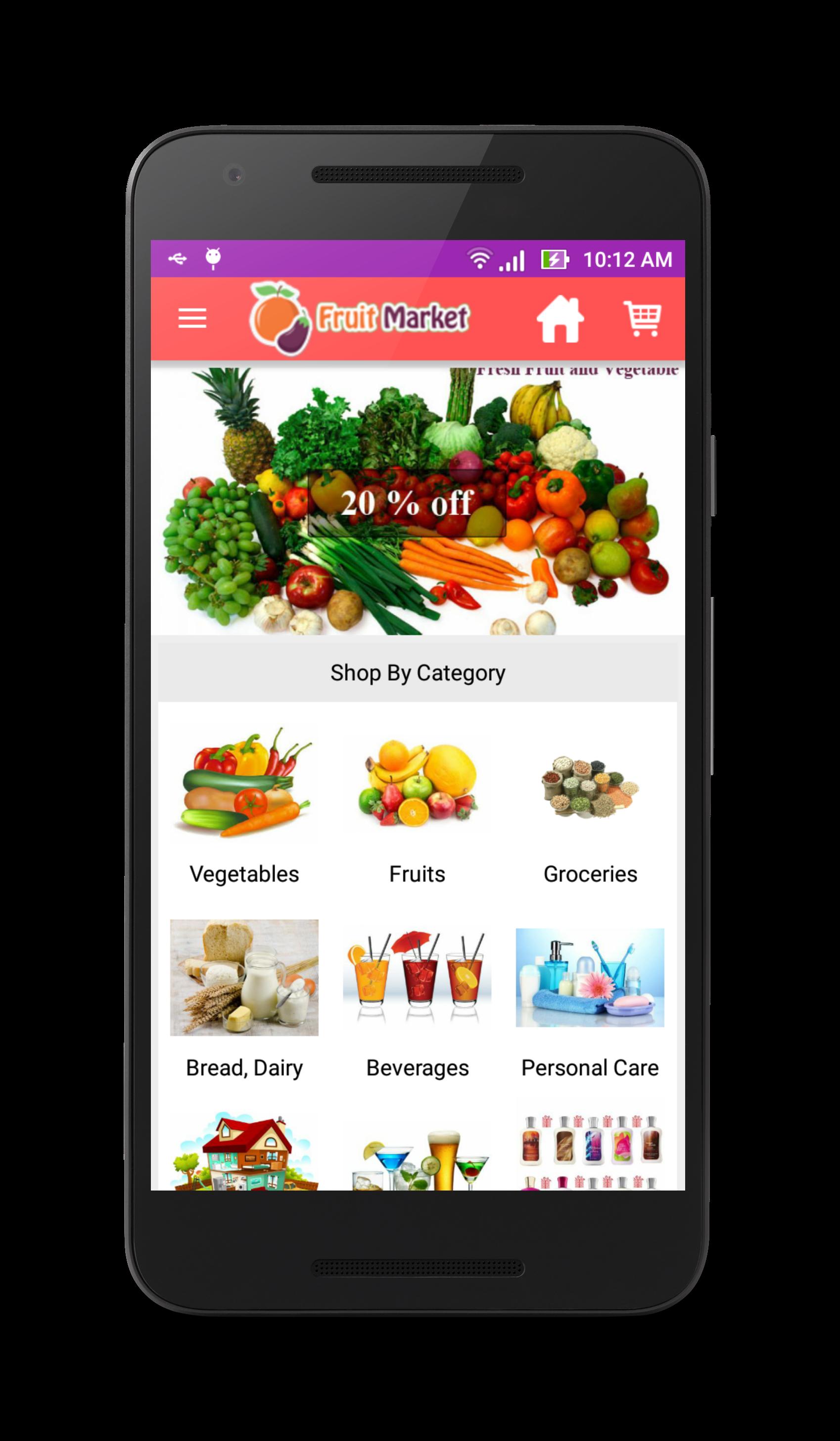 Fruit Market Local Fruit Store App By Shreehariweb