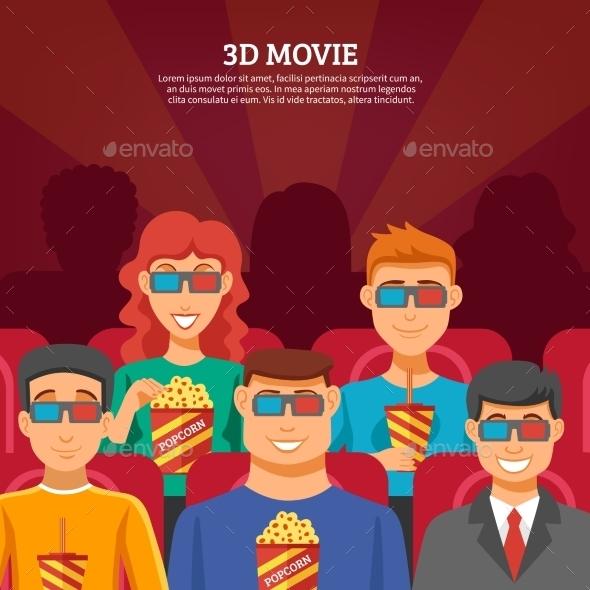 Cinema Viewers Design Concept  - Media Technology