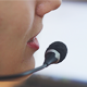 Woman Operator of the Call Center Says - VideoHive Item for Sale
