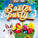 Happy Easter Party Flyer - GraphicRiver Item for Sale