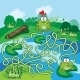 Frogs Maze Game - GraphicRiver Item for Sale