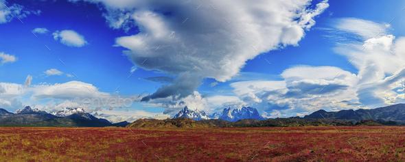 Around Chilean Patagonia - Stock Photo - Images