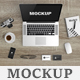 Macbook Scene Mockup - GraphicRiver Item for Sale