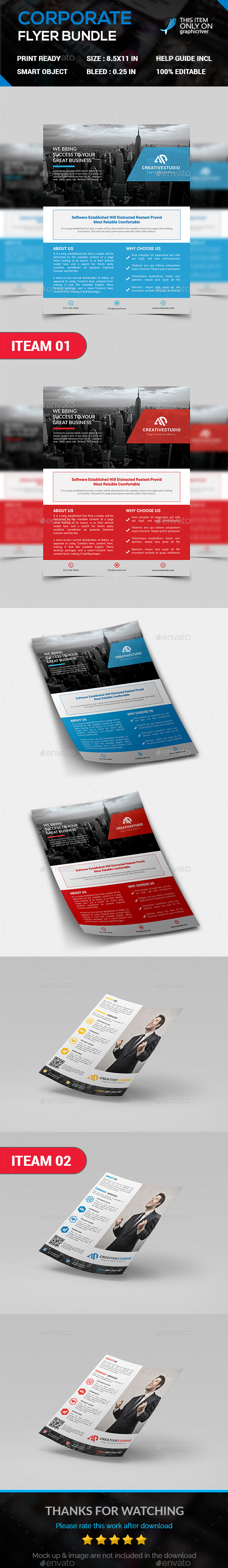 Corporate Flyer Bundle. - Corporate Flyers