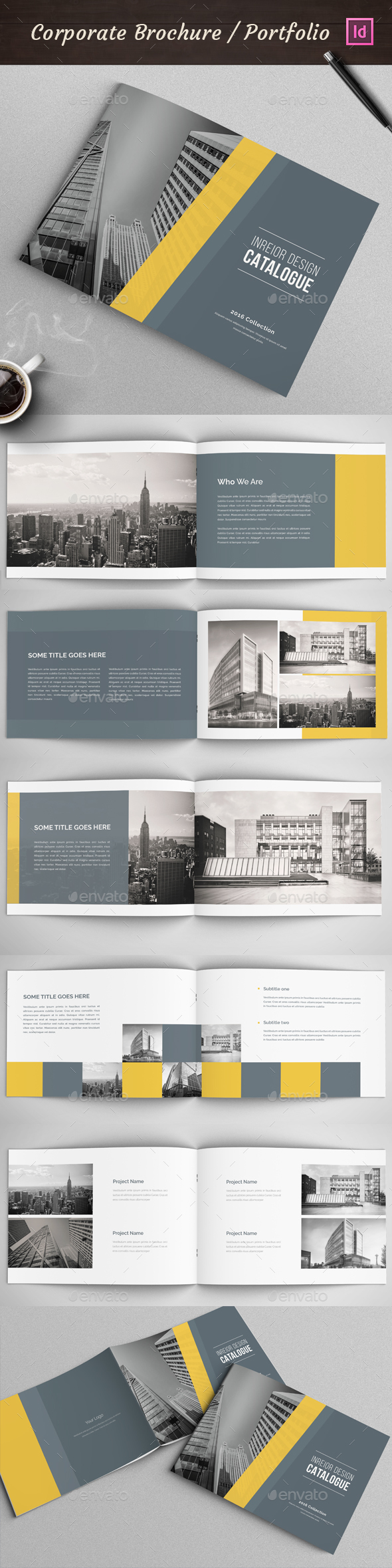 Modern Architecture  Brochure - Corporate Brochures