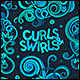 Curls and Swirls Doodles Elements Set - GraphicRiver Item for Sale