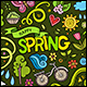 Spring Doodles Symbols Set - GraphicRiver Item for Sale