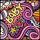 2 Baby Doodles Seamless Patterns - GraphicRiver Item for Sale