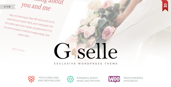 Giselle – Exclusive Blog & Fashion WordPress Theme