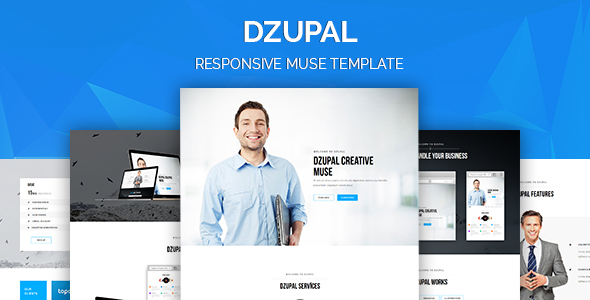 Dzupal Creative Responsive Muse Template