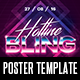 Hotline Bling Poster Template - GraphicRiver Item for Sale