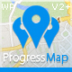 Progress Map Wordpress Plugin - CodeCanyon Item for Sale