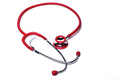Isolated Red Stethoscope - PhotoDune Item for Sale