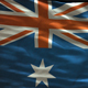 Australia Looped Flag - VideoHive Item for Sale