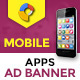 GWD | Mobile App HTML5 Ad Banner - 07 Sizes