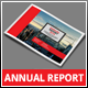 A5 Landscape Annual Report 2015 - GraphicRiver Item for Sale