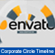 Corporate Circle Timeline - VideoHive Item for Sale
