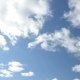 Clouds Against The Bright Blue Sky - VideoHive Item for Sale