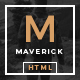 Maverick - Multipurpose HTML Blog Magazine - ThemeForest Item for Sale
