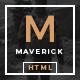 Maverick - Multipurpose HTML Blog Magazine - ThemeForest Item for Sale