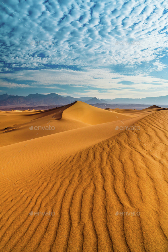 Desert Death Valley - Stock Photo - Images