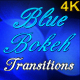 Blue Bokeh Transitions - VideoHive Item for Sale
