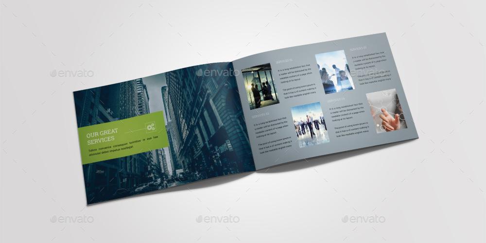 A5 brochure landscape by dotnpix graphicriver for A5 landscape brochure template
