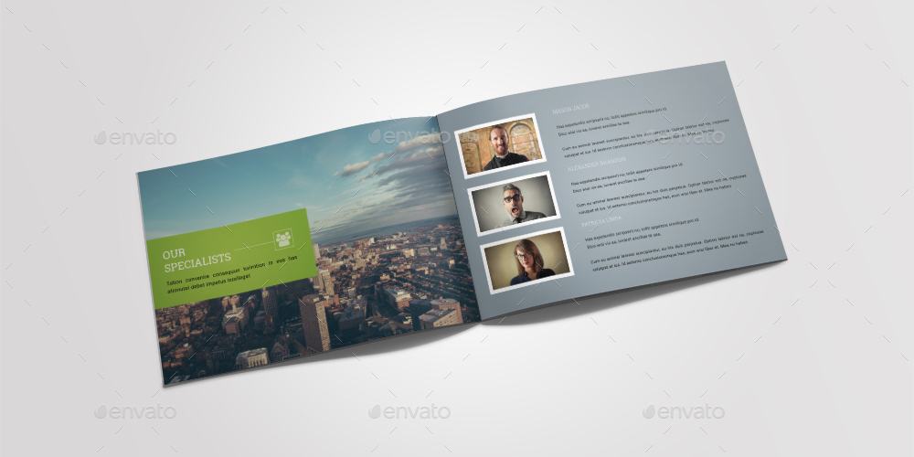 A5 Brochure Landscape By Dotnpix | Graphicriver