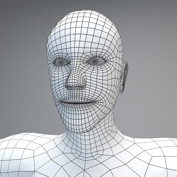 Male Basemesh - 3DOcean Item for Sale