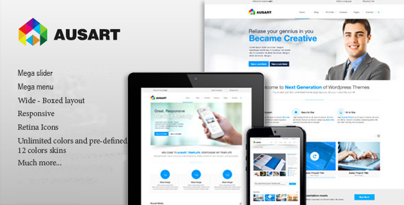 Ausart - Multipurpose Drupal Theme - Corporate Drupal