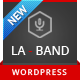 LA-BAND - Music Band Premium WordPress Theme Nulled