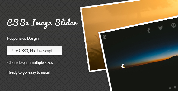 CSS3 Image Slider - CodeCanyon Item for Sale