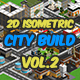2D Isometric Game Asset - City Build Vol 2 - GraphicRiver Item for Sale