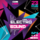 Electro Sound Flyer Template - GraphicRiver Item for Sale