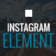 Instagram Element - Instagram Plugin for jQuery - CodeCanyon Item for Sale