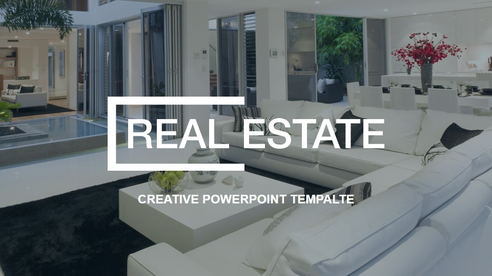 real estate powerpoint presentation templaterojdark | graphicriver, Modern powerpoint