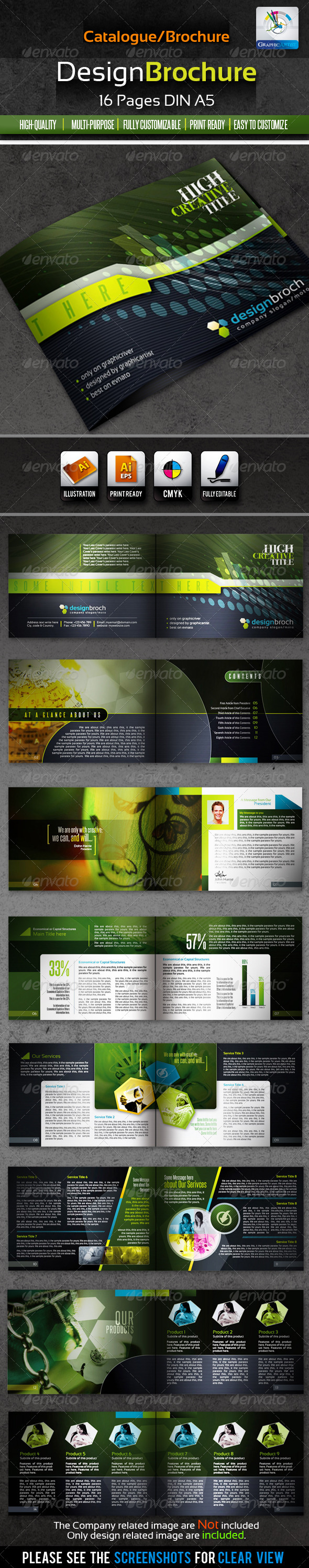DesignBrochure 16pages Corporate Catalog/Brochure - Corporate Brochures