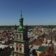 Aerial Old City Lviv, Ukraine - VideoHive Item for Sale