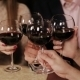 Friends At a Restaurant Drinking Wine. - VideoHive Item for Sale