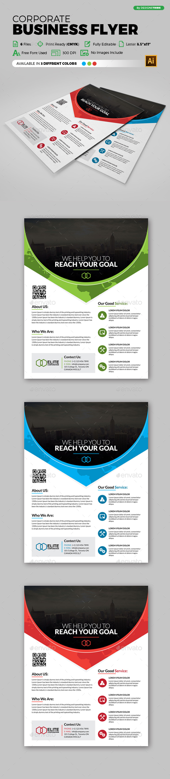 Flyer – Multipurpose 141 - Flyers Print Templates
