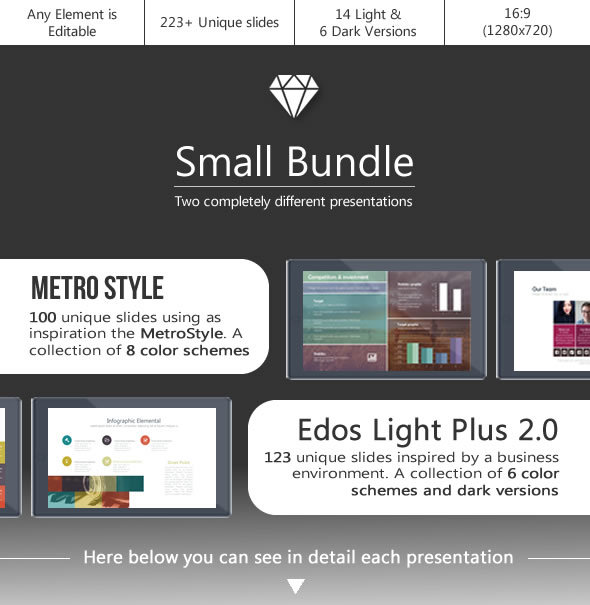 Small Bundle - Powerpoint Template - PowerPoint Templates Presentation Templates