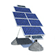 Solar Panel Farm High Detaile - 3DOcean Item for Sale