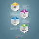 Business Infographics Steps Elements - GraphicRiver Item for Sale